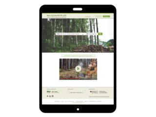 Waldbörse Teaser Waldmarktplatz - Das Branchenbuch der Wald- und Forstwirtschaft