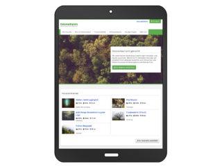 Waldbörse: Unsere Lösung - Holzmarktplatz für Stockverkauf